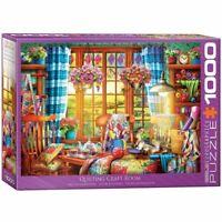 Eurographics Puzzle 1000 Piece Jigsaw - Patchwork Craft Room  EG60005348
