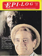 Epi-Log Television Fanzine 10/1990 Twilight Zone Outer Limits Science Fiction