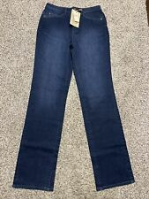 NWT COLDWATER CREEK CLASSIC FIT STRAIGHT LEG NEW DESIGNER WOMENS SIZE 4 LONG
