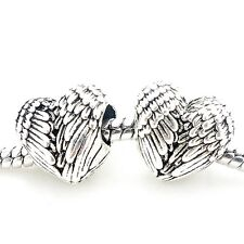 1 Bead * Modul * Element für Beads Armband - Kette* Herz * Engel Flügel *