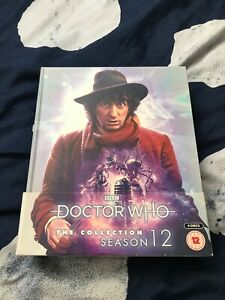 Doctor Who: The Collection Season 12 Limited Edition Bluray Box Set