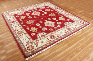 Oriental Traditional Carpets New Rug Handmade Area Rugs 6x6 ft. 100% Wool Carpet