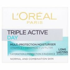 ** L'OREAL TRIPLE ACTIVE DAY CREAM NORMAL & COMBINATION SKIN NEW 50ml **