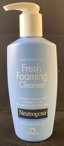 NEUTROGENA Fresh Foaming Cleanser (and Makeup Remover)