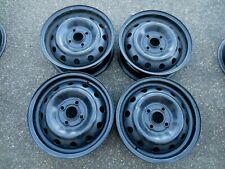 4 x Stahlfelgen für Hyundai i10 / Kia Picanto 5Jx14H2  4x100 ET46 #16009