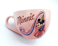 Disney Store Minnie Mouse Sorceress Oversized Coffee Mug Large Pink Cup 16oz