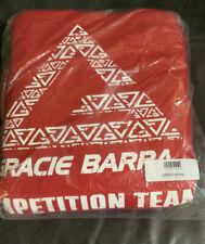 Gracie Barra Ju Jitsu Hoodie Red sweatshirt shirt MMA Bjj