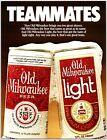 1983 Old Milwaukee Beer Advertising Print Ad N1