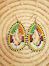 New African Maasai Earrings Masai Massai Africa S/M jemo407