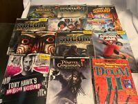 Lot of 12 Brady Games Strategy Guides Doom Warcraft Tony Hawk Arc Saw Champions