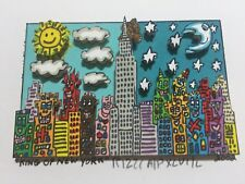 "James RIZZI: original 3D ""KING OF NEW YORK"", handsigniert, Mini 2002, VERGRIFFEN"