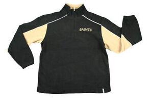 Reebok NFL Football Men's New Orleans Sideline Fleece Jacket - Black