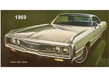 1969 Chrysler Newport 2D  Novelty  Refrigerator  Magnet