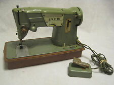 Vintage SINGER SPARTAN 327K  sewing machine sew w/ foot pedal