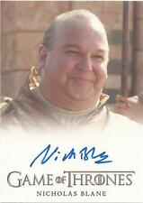 "Game of Thrones Season 3 - Nicholas Blane ""Spice King"" Autograph Card"