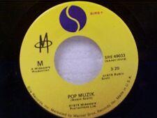 """M  """"POP MUZIK / M FACTOR"""" 45"""
