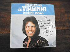 Frédéric Fabian : reparlez moi de Virginia - disque AZ SG 54