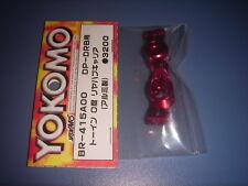 Yokomo DRB Aluminum Rear Hub/Toe-in 0 (BR-415A00)