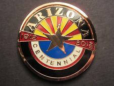 Arizona Centenial Coin 2012