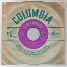 "PAUL ANKA YOUR LOVE + LONELY BOY 1959 COLUMBIA SCMQ 1252 ITALY 7""45 GIRI"