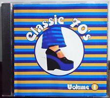 Classic 70's Volume 1. CD Various 1996 EMI - 8148782 Rock, Pop Australia