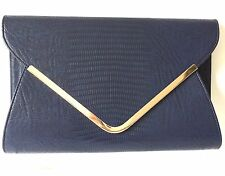 Envelope Bag Clutch Bag Navy Blue Evening Bag Ladies Shoulder Bag Wedding New
