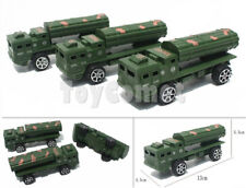3 pcs Military Missile Transport Truck Models Toy Soldier Army Men Accessories