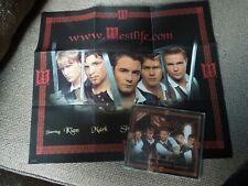 Westlife Bop Bop Baby RARE CD Single + Poster