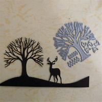 Tree Design Metal Cutting Dies For DIY Scrapbooking Album Cards Decorati LA