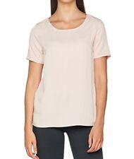 VILA CLOTHES Women's Visommi S/S Lace Top-Fav T-Shirt Size L RRP£25 (00267)