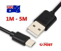 Premium 5M 3M USB Type-C Adapter Cable Data Charger Cord For Sony Xperia 5 1 L3