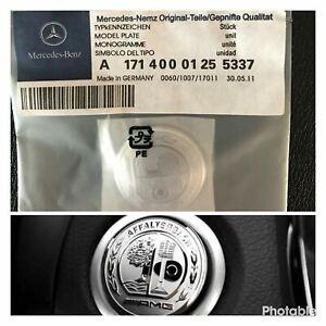 Fit mercedes benz AMG 37mm Sticker Start Button Keyless-go Comfort Access C63