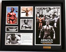 New Arnold Schwarzenegger Limited Edition Memorabilia Framed