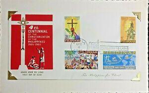 Philippines 1965 400 YEARS Chritianization  Philippines FDC