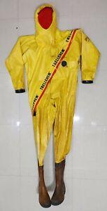 Trellchem Gaz & Chimique Protection Suit Sécurité Suit (Taille:L)