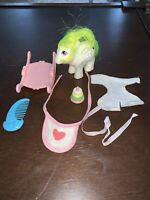 Vintage 1984 G1 My Little Pony Baby Surprise With Rocker And Accessories