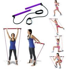 Attrezzo Elastico Long esercizi braccia Resistenza Pilates Corda elastica