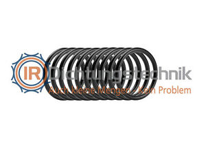 5 St. O-Ring Nullring Rundring 44,04 x 3,53 mm BS224 NBR 70 Shore A schwarz