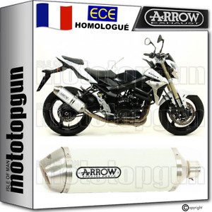 ARROW POT ECHAPPEMENT APPROUVE RACE-TECH BLANC SUZUKI GSR 750 2015 15 2016 16