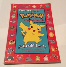 The Official Pokemon Handbook by Maria S. Barbo (1999 Paperback)