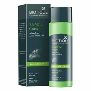 Biotique Advance Ayurveda Bio Wild Grass Soothing After Shave Gel For Men 120ML