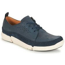Clarks Trigenic Trifri Lace Navy  Nubuck Men's Shoes Size UK 10 G