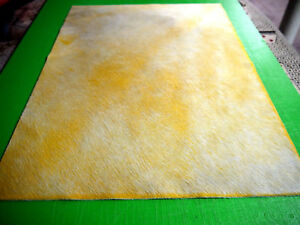 """Cowhide leather hair on panels 3 colors 18"""" x 24"""" first Quality For ( 1 ) piece"""