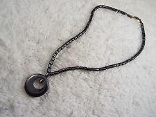 Hemetite Pendant Necklace (D49)