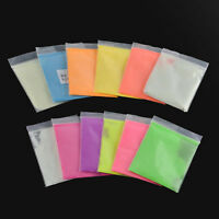 5Color Kids Art Glow in Dark Luminescent Resin Pigment Powder 10G Coating Crafts