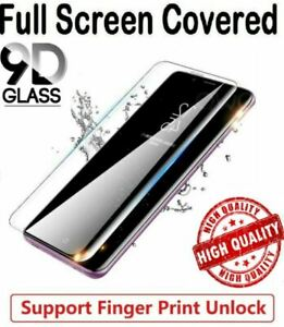 Fits Samsung Galaxy S20 S10 S9 S8 S7 NOTE  Tempered Glass Screen Protector Curve