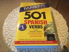 Slight Use 501 Spanish Verbs with CD-ROM and Audio CD