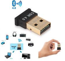 1pc Wireless USB Bluetooth V4.0 CSR Dongle Adapter for Windows 7 8 10 PC Laptop