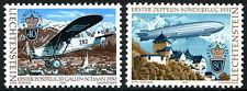 Liechtenstein 663-664, MNH. EUROPA CEPT. Mail Plane, Zeppelin, 1979
