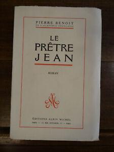 Le prêtre Jean Pierre Benoit 1952 Edition Originale Tirage Limité